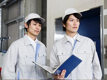 工業用ガスの製造・容器の整備(6か月後正社員)
