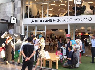 【店舗Staff】 登録制*チーズ,バター,牛乳etc北海道うまれのフードが沢山★