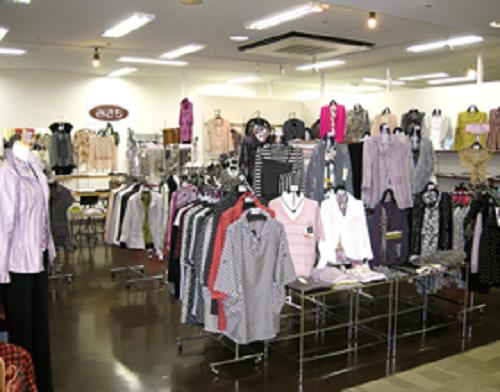 週2~4日のミセス婦人服ショップ販売