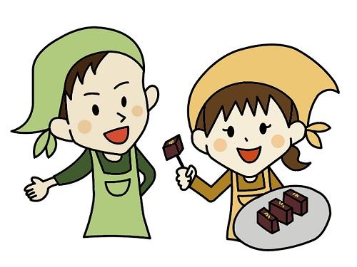 短期の和菓子イベント販売